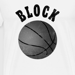 Basketball T-Shirt Block - Männer Premium T-Shirt
