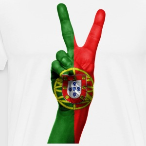PORTUGAL NEW COLLECTION - Herre premium T-shirt