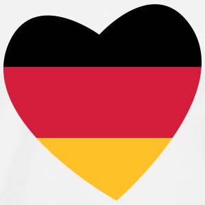 Heart Germany - Men's Premium T-Shirt