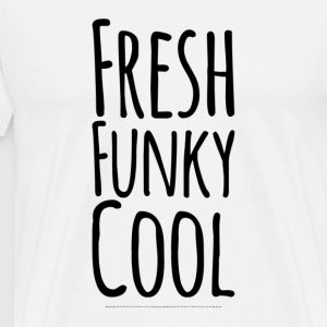 Frisk Funky Cool - Herre premium T-shirt
