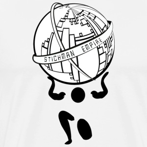 Stickman Empire - Männer Premium T-Shirt
