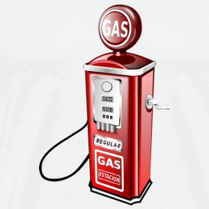 gas pump - Men's Premium T-Shirt