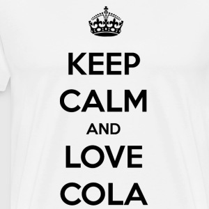 Cola. The feeling of an icy cold cola / gift - Men's Premium T-Shirt