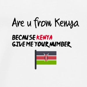 Are you from Kenya - Men's Premium T-Shirt