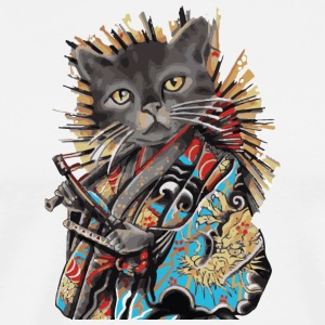 Cat chinois au Japon - T-shirt Premium Homme