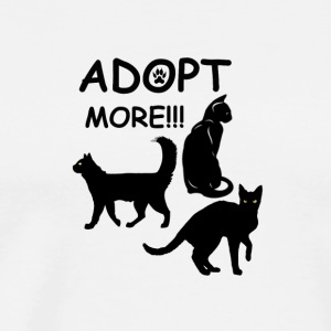 Cats cat | adoption - Men's Premium T-Shirt
