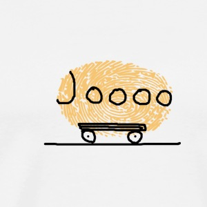 Journey with yellow campers Bob - Men's Premium T-Shirt