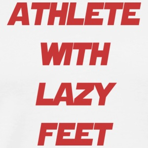 athlete feet - Men's Premium T-Shirt