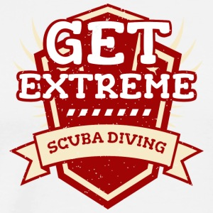 Get Extreme Scuba Diving T-shirt device dives - Men's Premium T-Shirt