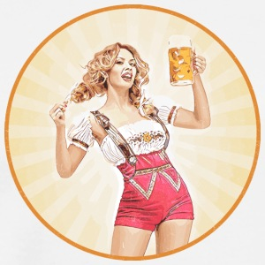Oktoberfest Beer Girl 721541 - Men's Premium T-Shirt