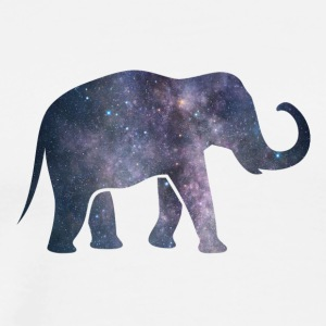 Elephant from the Universe - Men's Premium T-Shirt