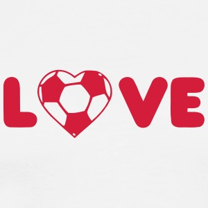 L'amour du football - T-shirt Premium Homme