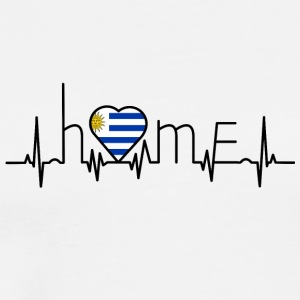 i love home Uruguay - Men's Premium T-Shirt