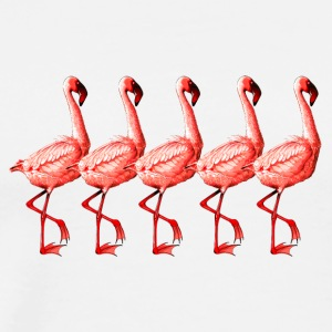 flamingos - Men's Premium T-Shirt