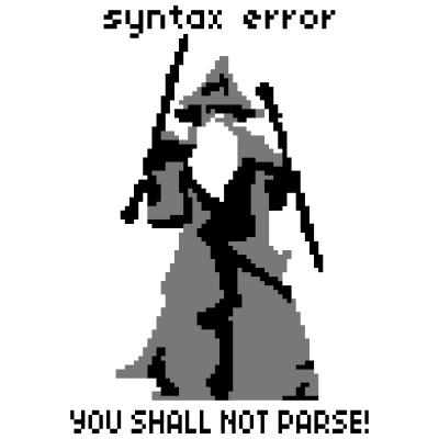 YOU SHALL NOT PARSE