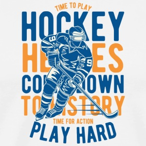 hockey - Herre premium T-shirt