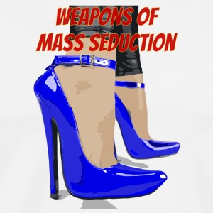 weapons of mass seduction - Maglietta Premium da uomo