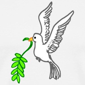 Peace doves - Men's Premium T-Shirt