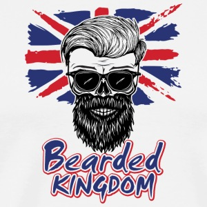 UK beard - Männer Premium T-Shirt