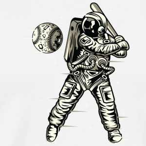 Space Baseball Astronaut Christmas gift new - Men's Premium T-Shirt
