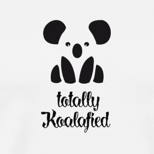 Koala minimal logo cute full on koala austral - Men's Premium T-Shirt