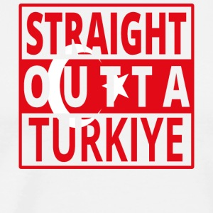 Straight Outta Turquie png - T-shirt Premium Homme