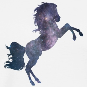 Horse from the universe - Men's Premium T-Shirt