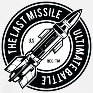 The Last Missil - Herre premium T-shirt