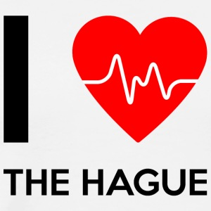 I Love The Hague - I Love La Haye - T-shirt Premium Homme