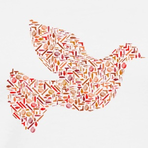 peace dove - Men's Premium T-Shirt
