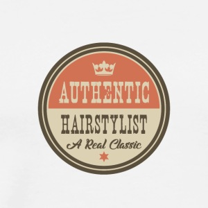 AUTHENTIC HAIRSTYLIST - FRISEUR - Männer Premium T-Shirt