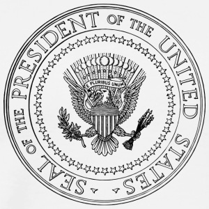 Siegel - Präsident of the United States - Männer Premium T-Shirt