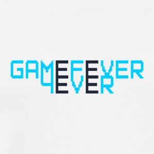 GameFever4Ever - Premium-T-shirt herr