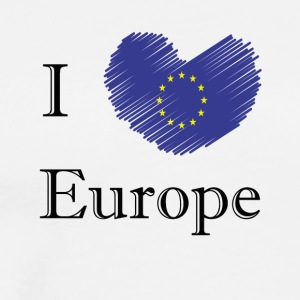 I love Europe I love Europe - Men's Premium T-Shirt