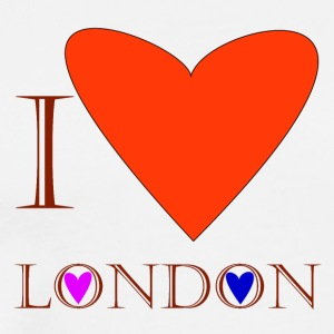 I Love London 1C - T-shirt Premium Homme