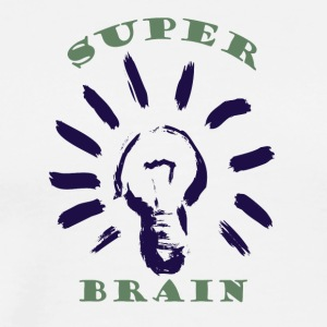 Super Brain Blue - Men's Premium T-Shirt