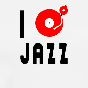 I love jazz - Men's Premium T-Shirt