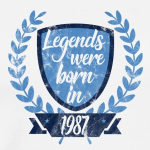 Legends were born 1987 - Men's Premium T-Shirt