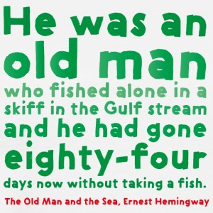 The Old Man and the Sea - Premium-T-shirt herr