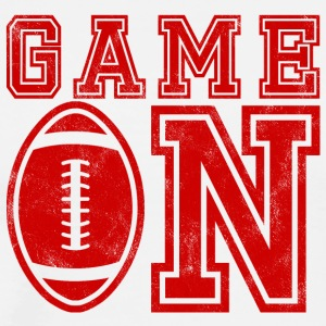 Super Bowl / Football: Game On - Men's Premium T-Shirt