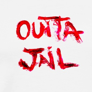 Outta Jail - Premium T-skjorte for menn