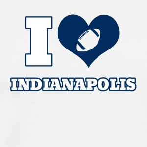 I love Indianapolis - Men's Premium T-Shirt