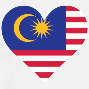 A Heart For Malaysia - Men's Premium T-Shirt