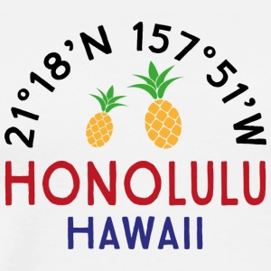 Honolulu - Premium-T-shirt herr