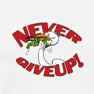 never giveup 2 - Men's Premium T-Shirt