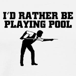 pool - Men's Premium T-Shirt
