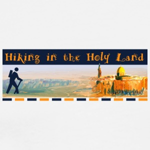 Hiking in the Holy Land - Men's Premium T-Shirt