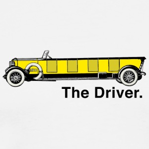 Yellow Oldtimer - The Driver. - Men's Premium T-Shirt