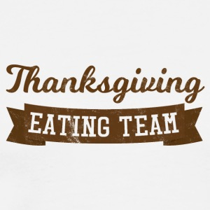 Thanksgiving / Erntedankfest: Thanksgiving Eating - Men's Premium T-Shirt