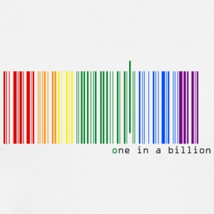 one in a billion - Camiseta premium hombre